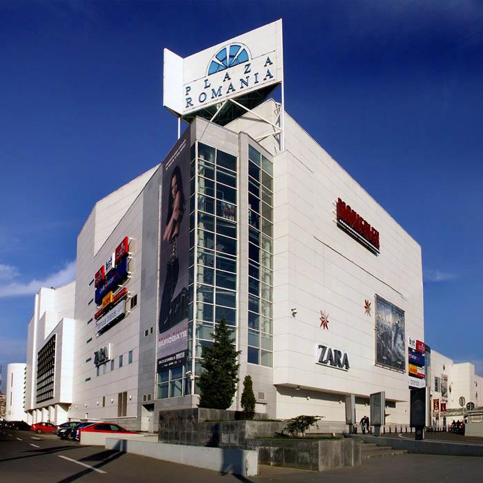 Degivrare rampa Mall Plaza România